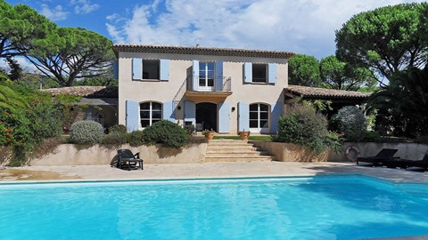 Villa Grimaud, Large Pool, Summer Kitchen, 5km from Cote d