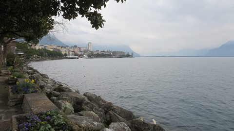 Furnished Apartment With Spectacular Views In The Centre Of Montreux-Tour D'ivoire Building Near Casino